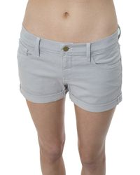 Frame Denim Le Cut Off Cuffed - Lyst