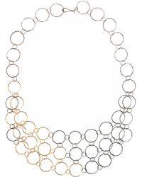 Melissa Joy Manning - Gold Mixed Metal Mini Collar Necklace - Lyst