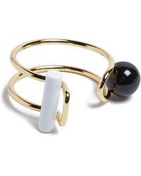 Carven Metal Ball Bangle - Lyst