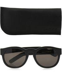 Larke Gill Round-framed Sunglasses - Lyst