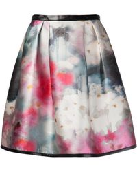 Honor Floral Skirt - Lyst