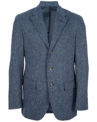 Ralph Lauren Blue Label Donegal Jacket - Lyst