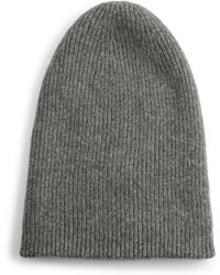 Helmut Lang - Lux Ribbed Beanie - Lyst