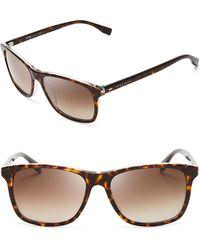 Hugo Boss Wayfarer Sunglasses - Lyst