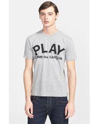 Comme des Garçons 'Play' Graphic T-Shirt - Lyst