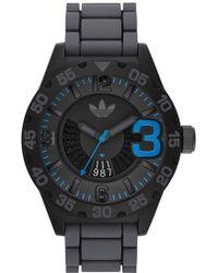 adidas Originals - 'newburgh' Silicone Strap Watch - Lyst