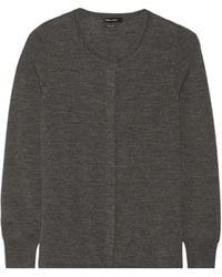 Isabel Marant Palermo Wool Jersey Cardigan - Lyst