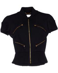 Versace Jacket black - Lyst