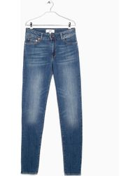 Mango Slim-Fit London Jeans - Lyst