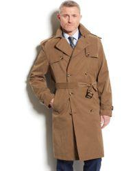 London Fog Plymouth Raincoat - Lyst