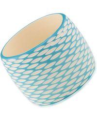 Carolee - Caribbean Cascades Honeycomb Bangle Bracelet - Lyst