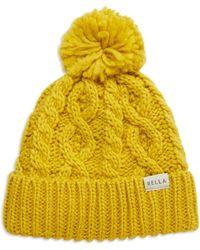Rella - Cuffed Pom Hat - Lyst