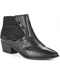Circus By Sam Edelman Hollis Pointed Toe Booties - Lyst