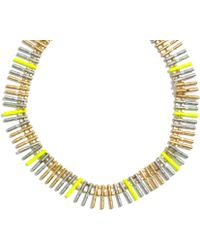 Madewell Colortrack Statement Necklace - Lyst