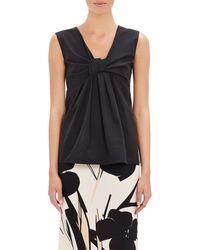 Marni Knot-Front Shell - Lyst