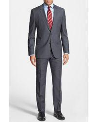 Boss by Hugo Boss 'Huge/Genius' Trim Fit Wool Suit - Lyst