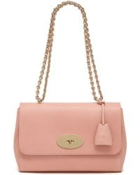 Mulberry Medium Lily pink - Lyst