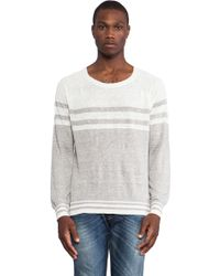 Diesel White Bharati Sweater - Lyst