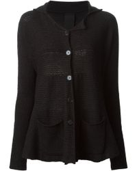 Rundholz Flared Hooded Cardigan - Lyst