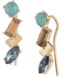 Lonna & Lilly - Multi-stone Crawler Earrings - Lyst