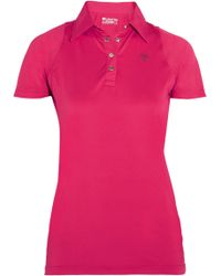 Ariat - Cambria Mesh-paneled Stretch-jersey Polo Shirt - Lyst