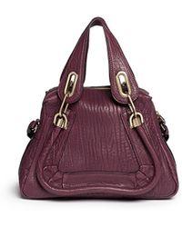 Chloé 'Paraty' Small Leather Bag - Lyst