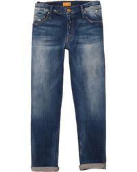 Mother Dropout Jeans - Lyst