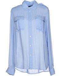 Ralph Lauren Blue Shirt - Lyst