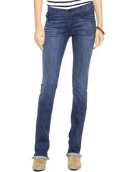 True Religion Becca Mid Rise Boot Cut Jeans - Lyst