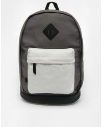 Asos Backpack in Color Block - Lyst