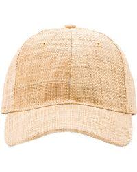 ViX - Straw Baseball Hat - Lyst