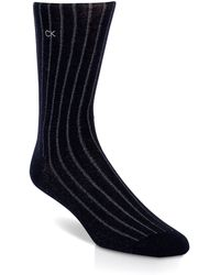 Calvin Klein Tech Heat Ribbed Crew Socks - Lyst