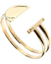 Pamela Love Gold Bracelet - Lyst