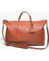 Madewell The Transport Weekender - Lyst