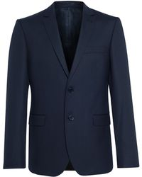 The Idle Man Suit Jacket In Slim Fit - Navy - Lyst