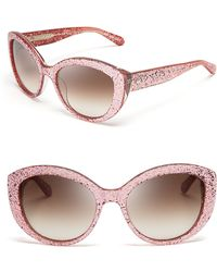Kate Spade Sherrie Cat Eye Sunglasses - Lyst