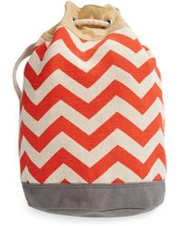 TOMS - 'reef' Canvas Bucket Bag - Lyst
