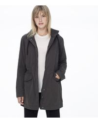 James Perse Yosemite Hooded Utility Parka - Lyst