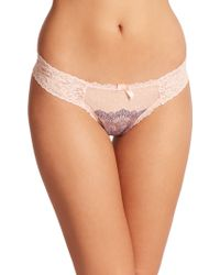 Hanky Panky Emma Low-Rise Diamond Thong multicolor - Lyst