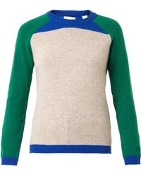 Chinti And Parker Colourblock Wool Sweater - Lyst