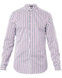 Paul Smith Byard Striped Doublecuff Shirt - Lyst