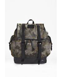 French Connection Aden Canvas Backpack - Lyst