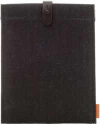 The Good Flock Denim Ipad Mini Sleeve - Lyst