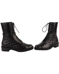 Vc Signature Quilty Boots black - Lyst