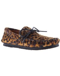Isabel Marant Leopard Print Driving Shoes - Lyst