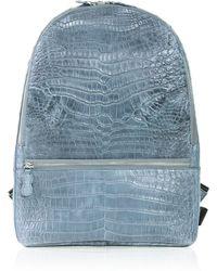 Celestina Samson Backpack in Blue Jeans - Lyst