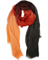 Contileoni - Gradient Coloured Modal Blend Scarf - Lyst