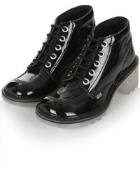 Topshop Kopey Shoes by Kickers - Lyst