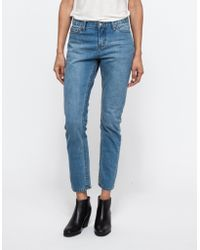 Cheap Monday Thrift In T2 blue - Lyst