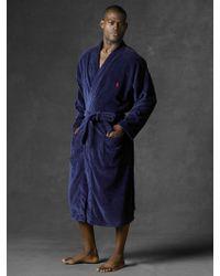 Polo Ralph Lauren Terry Kimono Robe - Lyst